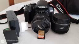 Canon T7i EM ESTADO DE NOVA<br><br>OPORTUNIDADE
