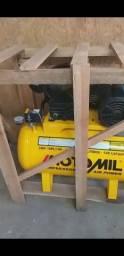 Compressor Motomil Cmv-10/100 140lbs 2cv Monofasico 110/220v<br><br>