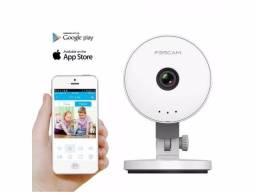 Câmera Segurança Ip Hd 1.0mp H264 Wifi Foscam C1 Lite P2p