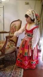 Antiguidade Roupa infantil original de Minhota