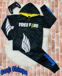 conjunto free fira infantil