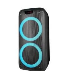 Caixa de Som Pulse Pulsebox LED Bluetooth Aux Usb FM 1000W - SP359 3 Anos de Garantia