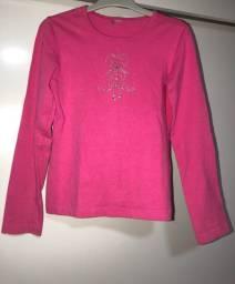 Blusa usada rosa