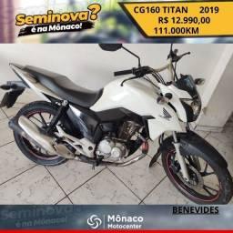 CG TITAN 160 ANO/MODELO 2019