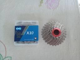 Cassete + Corrente 10v