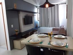 Apartamento Novo 30m². Mobiliado. Edf. Golden Sky