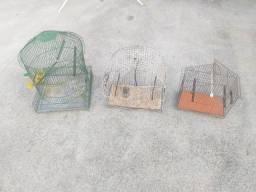 Vendo 3 gaiolas