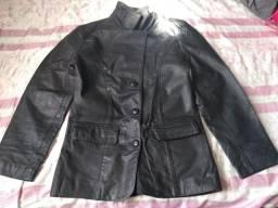 Jaqueta de couro(legítimo)