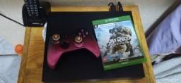 Xbox one x menos de 1 ano de uso