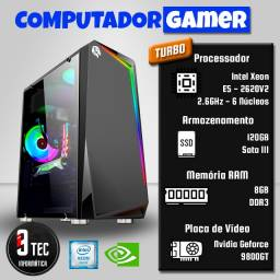 PC Gamer com Placa de Vídeo