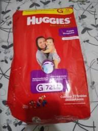 FRALDAS HUGGIES SUPREME CARE ROUPINHA