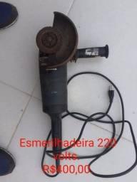 Esmerilhadeira Lixadeira Bosch 220v Usada Funcionando