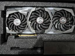 Placa De Vídeo - RTX 2080 Super Gaming X Trio - MSI