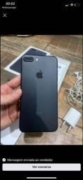 iPhone 7 Plus preto completo tudo ok