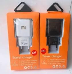 Carregador Xiaomi Qualcomm Quick Charge 3.0 Type-c<br><br>