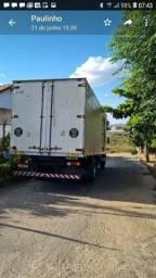 Caminhão vazio voltando vazio de Minas pro goias