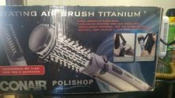 Escova polishop Rotating Air Brush Titanium