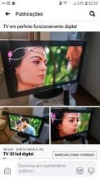 TV Panasonic pouco uso 32 polegadas