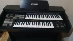 Órgão Tokai D2 Preto Fosco