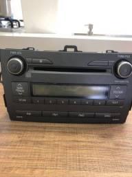 Rádio Toyota Corolla 2009/2010 XEI original