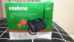 TELEFONE FIXO GSM DUASL CHIP