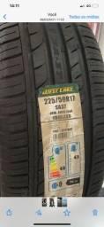 Super promoção de pneus novos 225/50/17 zeros na etiqueta por apenas 450,00 cada a vista
