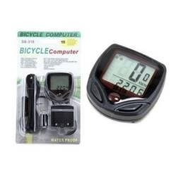 Velocímetro Prova D'agua Digital Bike Relógio Bicicleta Com fio