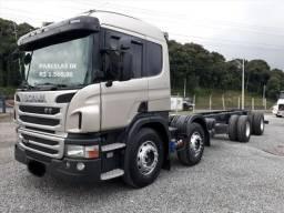 Scania p 310 8x2 no chassi ou carroceira com serviço entrada mais parcelas