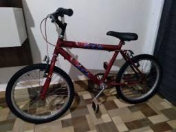 Bicicleta infantil aro 20 faço trocas