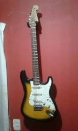 Guitarra Shelter Srato com entrada p alavanca