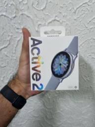 Galaxy Watch Active 2 prata 44 mm, novo lacrado, com nota fiscal