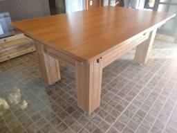 Mesa de bilhar  & Jantar  (madeira maciça)