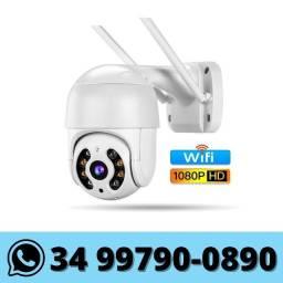 Câmera Ip Wifi Externa - Monitorada via celular