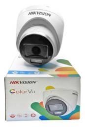 Câmera full hd visão noturna colorida lançamento original hikvision!