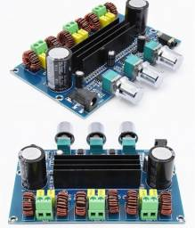 Título do anúncio: Amplificador Tpa3116 Bluetooth 5.0 100w 2x50w Áudio Estéreo