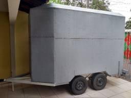 Vendo ou alugo trailer de lanches, documentado placa mercosul