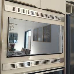 Grelha ventilação INOX forno embutir/microondas. NOVA