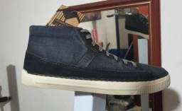 bota democrata canvas marinho jeans -linda e estilosa n° 39