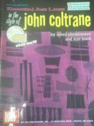 Livro Jazz lines John Cotrane