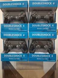 Controle Doubleshock para PS4/PC lacrado sem fio