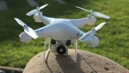 Drone ? Promoção ? / 1080p/HD /câmera wifi fpv ao vivo zoom 1000M / Com Controle Remoto