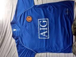 Camisa Retrô CR7 - Manchester United