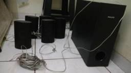 Caixas acústicas de home theater