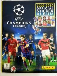 Álbum completo e intacto Champions league 2009-2010