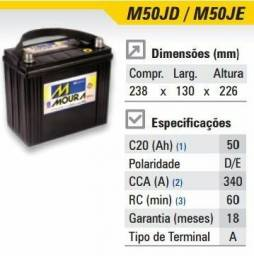 Bateria Moura Honda Civic 50 amperes