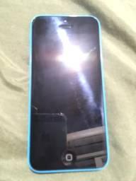 IPhone 5c azul zerado