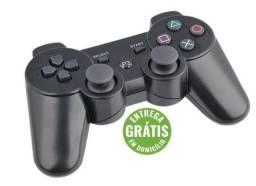 Controle Joystick Playstation 3 Wireless S/ Fio Ds - entrega grátis