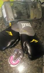 Luva de Boxe Everlast + Protetor Bucal