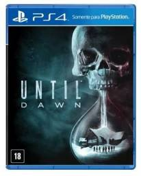 Until Dawn & PES 2015 PS4