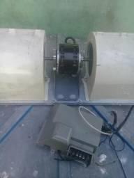 Vendo ventilador e placa do ar split 12mil btus marca carrier